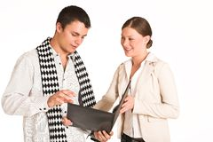 Gente di affari di #34 (FG) Fotografia Stock