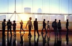 Gente di affari di collaborazione Team Teamwork Peofessional Concept Fotografia Stock Libera da Diritti