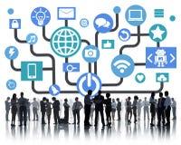 Gente di affari di collaborazione Team Teamwork Professional Concept illustrazione di stock