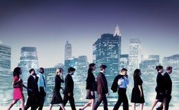 Gente di affari di collaborazione Team Teamwork Professional Concept Fotografia Stock