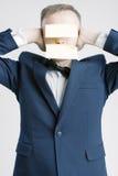 Gente di affari di concetti ed idee Ritratto del Caucasian Busine Fotografia Stock Libera da Diritti