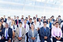 Gente di affari di Deversity Team Seminar Concept corporativo Fotografia Stock Libera da Diritti