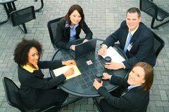 Gente di affari di diversità Fotografie Stock