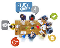 Gente di affari di progettazione Team Brainstorming Meeting Concept Immagine Stock