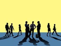 Gente di affari di Team Connection Togetherness Concept Fotografie Stock