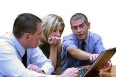 Gente di affari - esamini questo Fotografie Stock Libere da Diritti