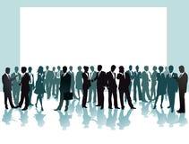 Gente di affari nella conferenza Fotografia Stock