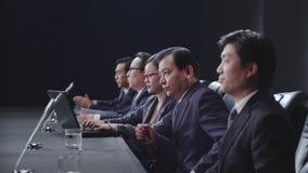 Gente di affari nella riunione immagine stock