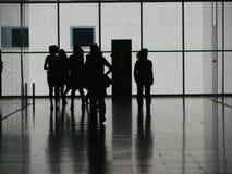 Gente di affari pedonale Fotografia Stock