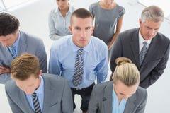 Gente di affari seria Fotografia Stock