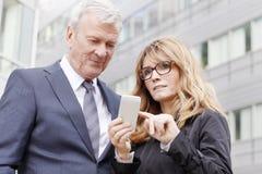Gente di affari sul lavoro Fotografia Stock Libera da Diritti