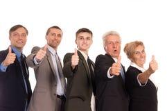 gente di affari sveglia Immagini Stock Libere da Diritti
