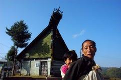 Gente di montagna indiana Fotografie Stock Libere da Diritti