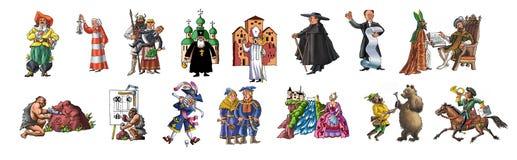 Gente differente illustrazione di stock