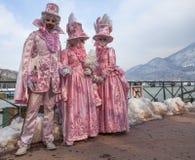 Gente disfrazada Fotografía de archivo