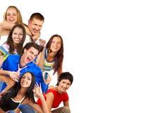 Gente divertente felice. fotografie stock libere da diritti