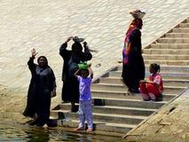 Gente egiziana Immagini Stock