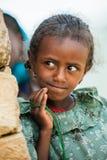 Gente en AKSUM, ETIOPÍA Imagen de archivo