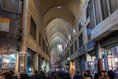 Gente en bazar central Fotografía de archivo libre de regalías