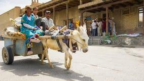 Gente en BUKHARA, UZBEKISTÁN Fotografía de archivo