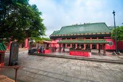 Gente en Che Kung Temple Imagen de archivo libre de regalías