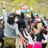 Gente en COREA DEL NORTE  Fotos de archivo