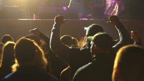 Gente en el concierto metrajes