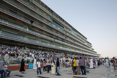 Hipódromo de Meydan Fotos de archivo libres de regalías