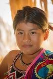 Gente en el PUEBLO de EMBERA, PANAMÁ Fotos de archivo libres de regalías