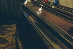 Gente en el subterráneo en Rusia Fotos de archivo