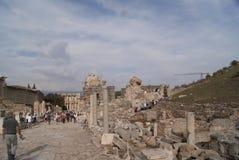 Gente en Ephesus Fotografía de archivo libre de regalías