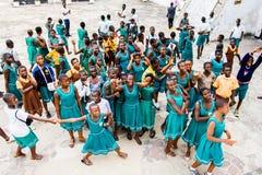 Gente en GHANA fotografía de archivo