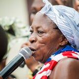 Gente en GHANA Fotos de archivo libres de regalías