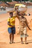 Gente en GHANA Fotografía de archivo libre de regalías