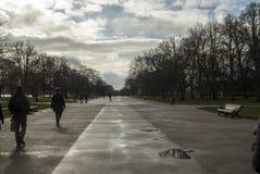Gente en Hyde Park Fotografía de archivo libre de regalías