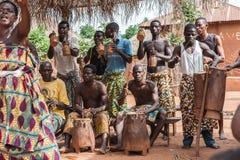 Gente en Kara, TOGO Imagenes de archivo