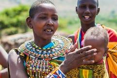 Gente en Kenia Imagenes de archivo