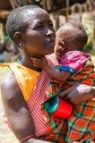 Gente en Kenia Fotografía de archivo