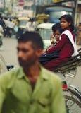 Gente en la calle fotografía de archivo