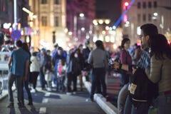 Gente en la calle Imágenes de archivo libres de regalías