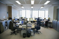 Gente en la oficina Fotos de archivo
