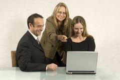 Gente en la reunión de negocios imagenes de archivo