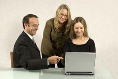Gente en la reunión de negocios fotos de archivo libres de regalías
