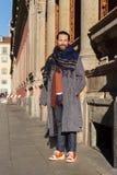 Gente en la semana 2016 de la moda de Milan Men Fotos de archivo