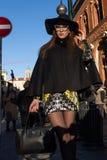 Gente en la semana 2016 de la moda de Milan Men Fotos de archivo libres de regalías