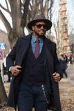 Gente en la semana 2016 de la moda de Milan Men Foto de archivo libre de regalías