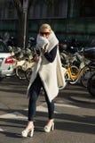 Gente en la semana 2016 de la moda de Milan Men Foto de archivo