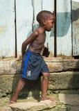 Gente en LIBREVILLE, GABÓN Imagenes de archivo