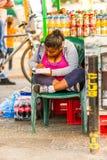 Gente en MANAGUA, NICARAGUA Foto de archivo