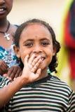 Gente en OMO, ETIOPÍA Imágenes de archivo libres de regalías